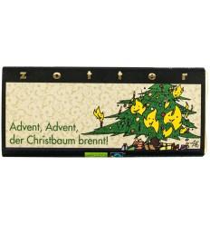 ZOTTER – Ciocolata BIO facuta manual editie de Craciun, Advent-Advent, 70g