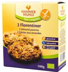 HAMMER MÜHLE – Fursecuri BIO cu migdale Florentiner 2 buc, 100g