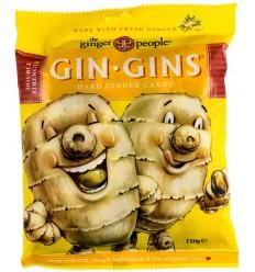 GIN GINS - BOMBOANE CU GHIMBIR, 150G