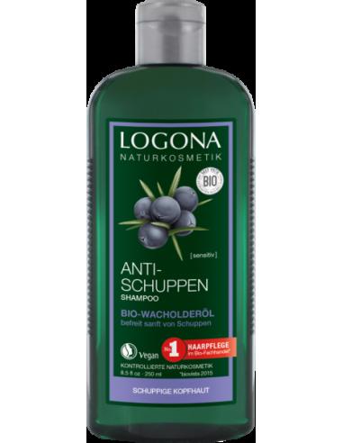 LOGONA – Sampon bio antimatreata cu ulei de ienupar, 250 ml
