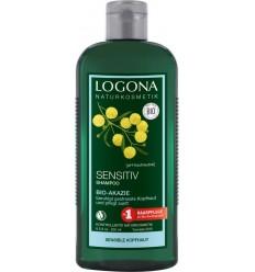 LOGONA - Sampon unisex, pentru scalp sensibil, cu acacia, bio 250 ml