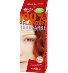 SANTE - Vopsea pentru par din plante Rosu Natural, 100 g