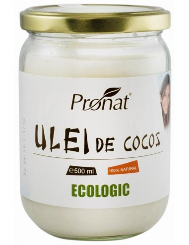 ULEI DE COCOS ECOLOGIC, 500 ML