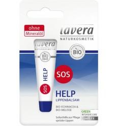 Lavera - Balsam de buze BIO cu echinaceea si roinita - SOS Help, 8 ml