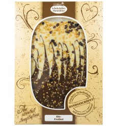 Liebhart`s – Ciocolata artizanala BIO cu praline, fara gluten, 150g