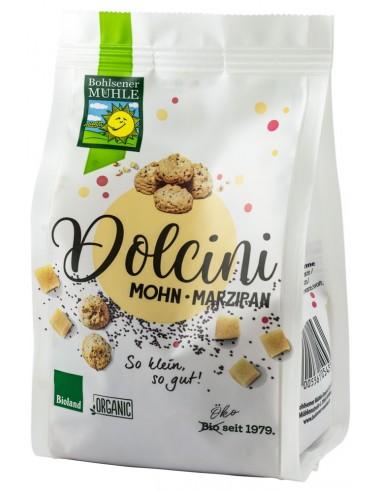 Bohlsener Muhle – Dolcini biscuiti BIO cu mac si martipan, 125 g