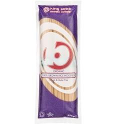 King Soba – Taitei BIO din orez brun, 250g