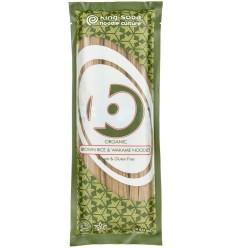 King Soba - Taitei BIO din orez brun si alge wakame, 250g
