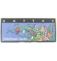 ZOTTER – Ciocolata BIO de Pasti – Osterhasen uberall? - 70g