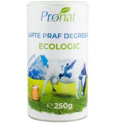 Lapte praf Bio degresat, 1% grasime, 250g