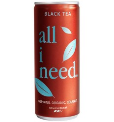 ALL I NEED – Bautura carbogazoasa BIO pe baza de ceai negru, 250ml