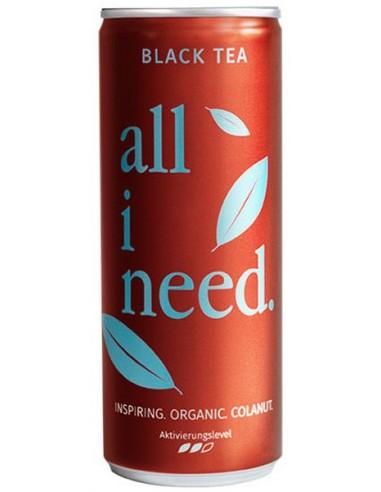 ALL I NEED – Bautura carbogazoasa BIO pe baza de ceai negru, 250ml