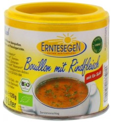 Erntesegen - Supă cu carne de vită ecologică, 120g