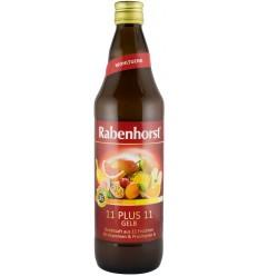 """RABENHORST - """"11 PLUS 11"""", SUC PUR MULTI-FRUCT, 0.75 L"""