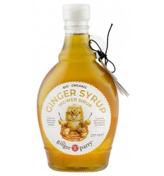 The ginger party - Sirop Bio de ghimbir, 240 g