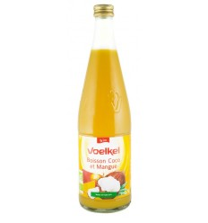 VOELKEL – Suc BIO de cocos si mango, 0,7 L