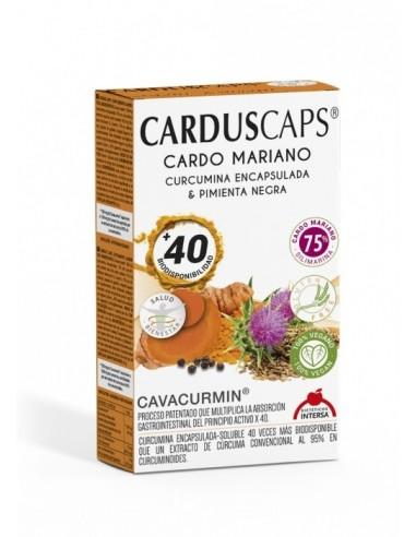 CARDUSCAPS® - Capsule cu armurariu, curcuma si piper negru, 60 capsule