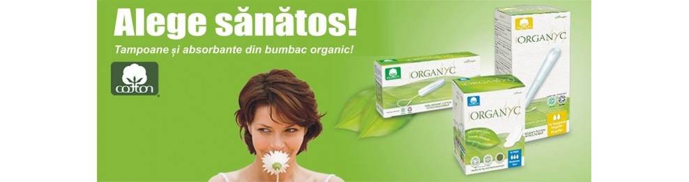 Produse din bumbac organic